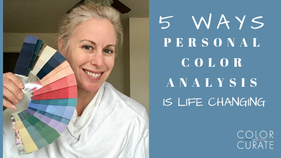 5 Ways Personal Color Analysis is Life Changing