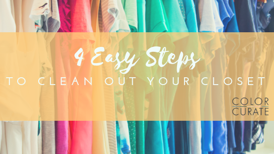 4 Easy Steps to Clean Out Your Closet