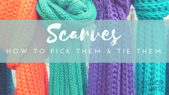 3 Scarves 6 Ways – How to Pick and Tie a Scarf