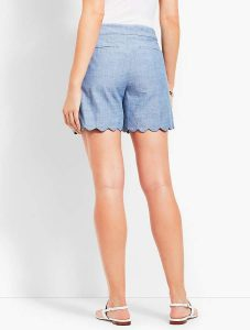 "shorts with 5"" hem"