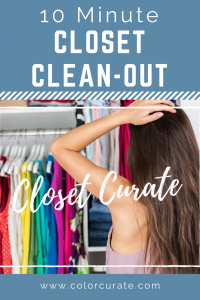 10 Minute Closet Clean-Out