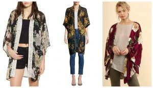 Kimonos for Autumn