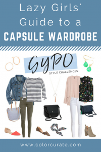 Capsule Wardrobe for Lazy Girls