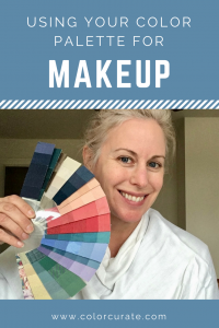 Using Your Color Palette for Makeup