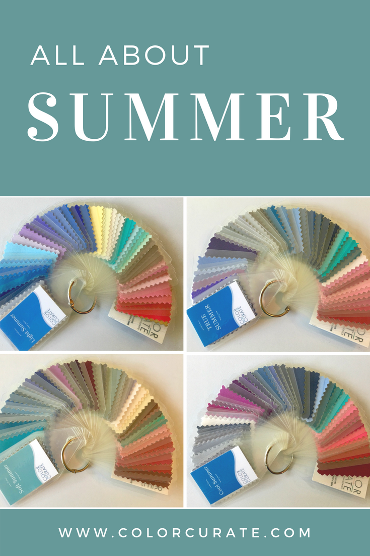 Seasonal color analysis summer