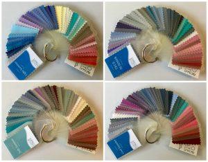 Seasonal color palette summer