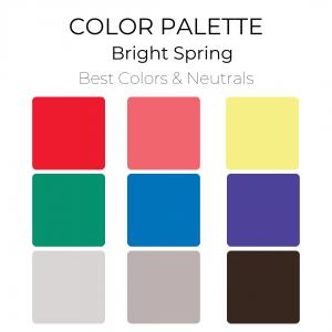 Bright Spring Color Palette