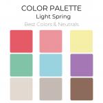 Light Spring Color Palette