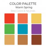 Warm Spring Color Palette